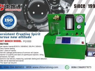 piezo injector test bench-cr injektor test and repair